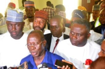 Gov Fayose is a typical armed robber – Oshiomhole