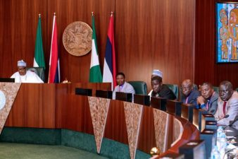 We must collectively shame those stoking fires of ethnic, religious conflicts, President Buhari tells CAN leaders