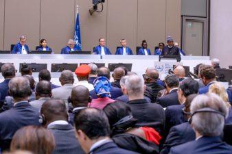 President Buhari demands ICC's action on corruption cases, illicit financial flows