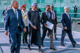 Text of address of President Buhari he was only President invited to address World Court, the International Criminal Court (ICC), at The Hague, Netherlands