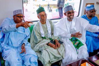 President Buhari inaugurates Abuja Light Rail Project