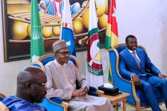 I am not bothered about defections in the APC, says President Buhari