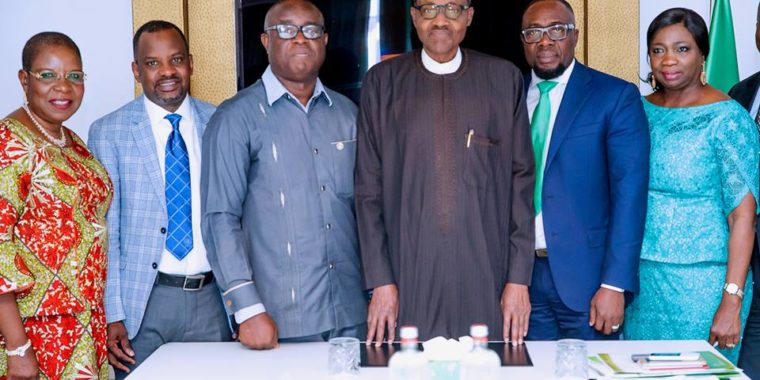 President Buhari lauds quality of Nigerian professionals in Netherlands