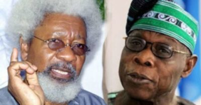 Soyinka to Obasanjo: You're unfit to lead a mission to rescue Nigeria
