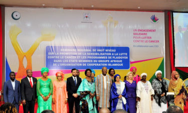 Empower more women with information on cancer prevention, Aisha Buhari charges