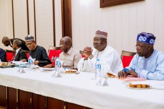 APC NWC agrees on direct primaries, as Buhari meets Tinubu, Uduaghan, others in Villa