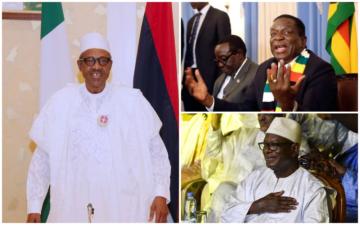 ECOWAS Chairman, Muhammadu Buhari, congratulates Malian President Keita, Zimbabwean President Mnangagwa on elections victories