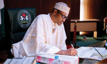 Buhari writes in UK's largest Anglican newspaper, cautions politicians dividing Nigeria with religion