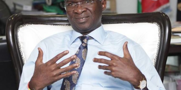 Why Jonathan did not dispute outcome of 2015 election, Fashola explains