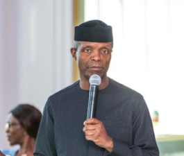 Osinbajo arrives Germany, tells Nigerians in country to hold leaders accountable, lists mismanagement, corruption as problems of Nigeria