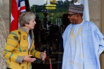 2019 elections will be free, fair, credible, Nigeria's President Buhari assures visiting UK PM May