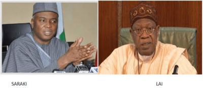 It's not executive practice to exchange words with Legislature, FG replies Saraki's statement saying Buhari's budget hopeless