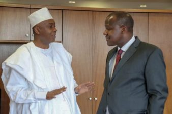 NewsUpdate: But for security forces intervention, Saraki plotted to foment violence at NASS over impeachment, APC reveals