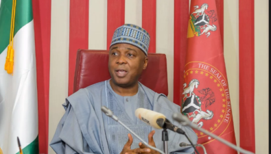 Saraki's game plan to defeat Buhari as explained by Dele Momodu: A matter for ruling and opposition players
