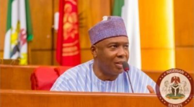 Saraki, Ben Bruce, others in US to attend launch of Trump's Africa Strategy