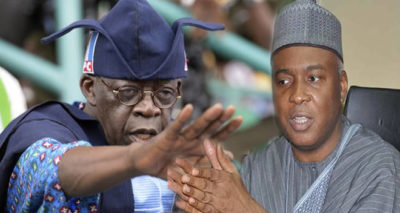 "Tinubu speaks on Saraki, Tambuwal, others, says ""They Go Away Because We Go the Right Way"""