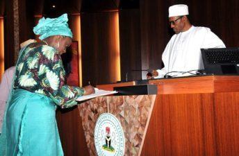 Nigeria: President Buhari accepts Kemi Adeosun's resignation as Minister of Finance