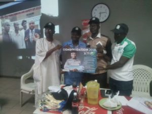 PHOTO NEWS: NUJ Presidency: Odusile flags off campaign
