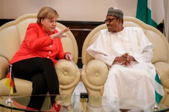 German Chancellor Merkel congratulates President Buhari on re-election