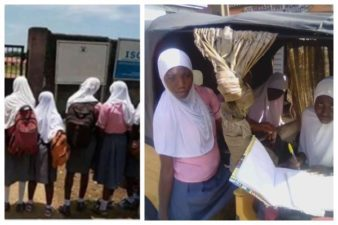 BREAKING: Lagos school Principal sacks Head Girl, suspends 4 others for wearing hijab