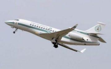 Buhari airborne, way back to Nigeria from New York