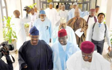 2019: Aggrieved APC governors to meet in Abuja