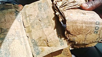 WAKE UP: Ban on money spraying at parties good, but mopping up damaged notes from circulation will be more commendable