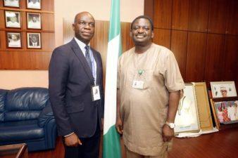 Sun Newspaper manager visits Buhari's Media Adviser at Villa