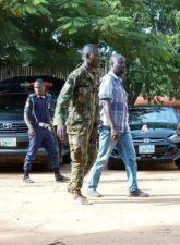 Kaduna Crisis: Civil Defence arrests man, James Tersoo, with Army uniforms