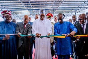 Buhari, Benin Republic counterpart inaugurate new ECOWAS Border Post in Lagos