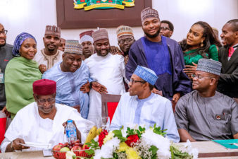 2015 was about Change, 2019 is about progress; PDP has made our task easier, Governor Yahaya Bello says at youths parley with President Muhammadu Buhari: ADDRESS DETAILS