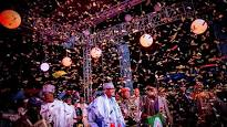 BREAKING: 2019 coast clears for Buhari as 7,000 APC delegates ratify, endorse his primary victory with 'Yes' affirmation