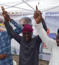 Breaking: APC retains control of Lagos, as Sanwo-Olu defeats Agbaje by landslide in guber election