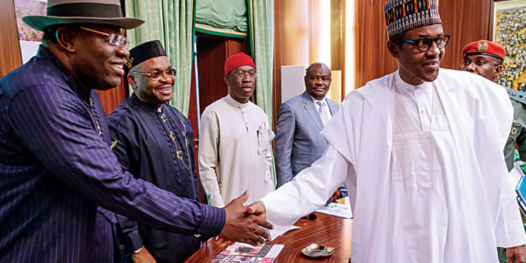 Minimum Wage: Buhari, Governors meet in Abuja