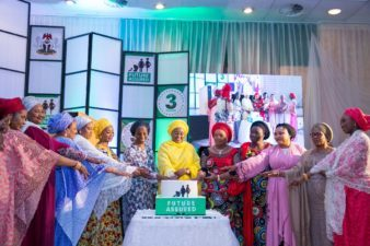 Future Assured at 3: Aisha Buhari vows to do more