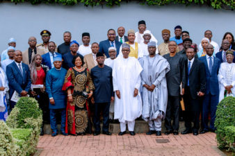 INAUGURATION OF THE PRESIDENTIAL COMMITTEE ON THE IMPACT AND READINESS ASSESSMENT FOR THE AGREEMENT ESTABLISHING THE AFRICAN CONTINENTAL FREE TRADE AREA (AfCFTA) THE PRESIDENCY, ABUJA, MONDAY, 22ND OCTOBER 2018