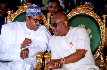 Projects: Rivers people are happy with you, Governor Wike tells Buhari, as President commissions new Port-Harcourt Airport Terminal