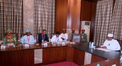 We are trying to prick conscience of developed countries on Lake Chad – President Buhari