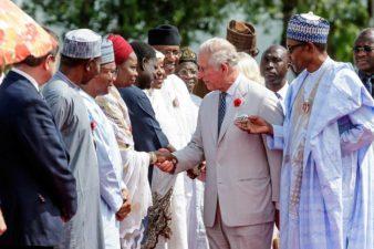 President Buhari receives Prince Charles, wife at Aso Rock