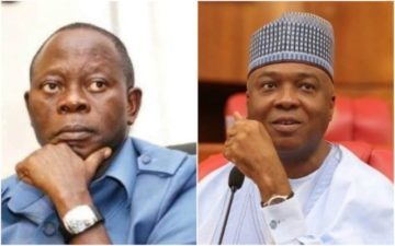 Saraki asks Oshiomhole to resign as APC Chairman