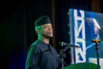 Collaboration will improve Nigeria's human capital development,  Osinbajo as as VP pledges support for CNN Heroes nominee, Ajayi-Akinfolarin