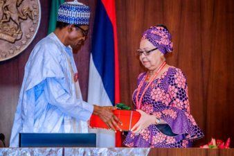 Panel on minimum wage submits report to Buhari, recommends N30,000
