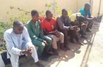 DSS parades six suspected killers of Agwom Adara in Kaduna