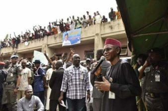 Under me, you have conducive environment for business – Governor el-Rufai assures Kaduna metropolitan youth