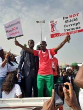 EFCC holds 'Walk Against Corruption' IN Abuja, Kaduna