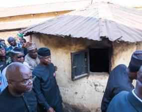 Osinbajo launches door-to-door campaign in Nyanya, Karu Abuja for Buhari's re-election