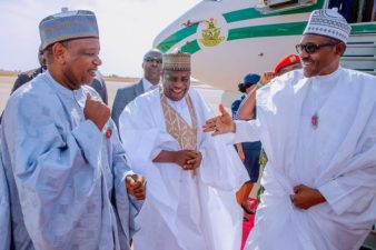We are happy you visited, Captain Shagari thanks President Buhari, declines comment on immortalisation promise