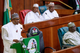 "Text of ""Budget of Continuity"" presented by President Muhammadu Buhari to joint session of Nigeria's National Assembly on Wednesday December 19, 2018"