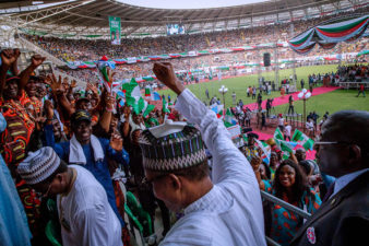 Akwa Ibom will fall for APC in 2019, State Party's Chairman says as Buhari's Presidential Campaign flags off in Uyo