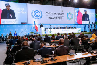 No country can confront climate change alone, President Buhari says at UN Summit in Poland